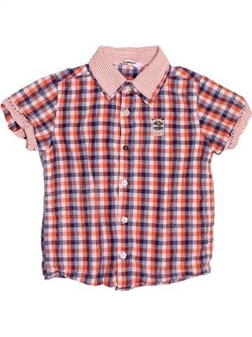 Camisa de manga corta niño 3 POMMES rosa 3 años verano #1499911_1