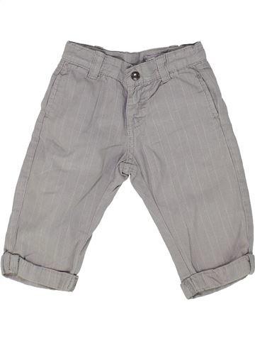 Pantalon garçon VERTBAUDET gris 12 mois hiver #1500338_1