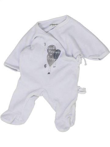 Pyjama 1 pièce garçon VERTBAUDET gris naissance hiver #1500357_1
