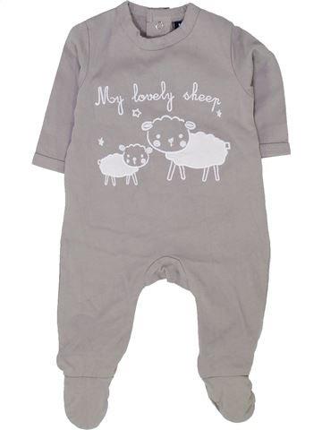 Pyjama 1 pièce garçon KIABI gris 1 mois été #1500376_1