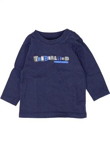 Camiseta de manga larga niño TIMBERLAND azul 6 meses invierno #1500383_1