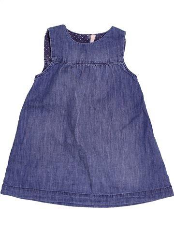 Robe fille H&M bleu 18 mois été #1500453_1