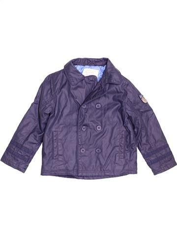 Abrigo niño VERTBAUDET azul 6 años invierno #1500561_1
