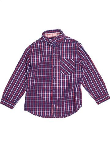 Camisa de manga larga niño DPAM violeta 6 años invierno #1500620_1