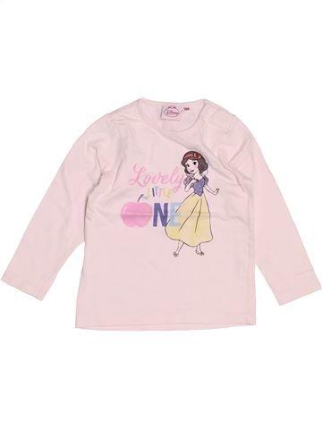 Camiseta de manga larga niña DISNEY rosa 18 meses invierno #1500767_1