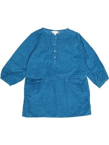 Robe fille KIABI bleu 3 ans hiver #1500791_1