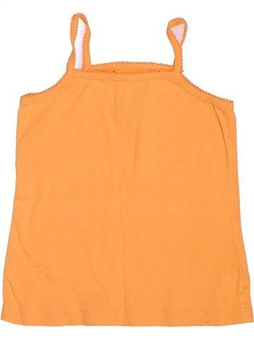 Camiseta sin mangas niña KIABI naranja 5 años verano #1500949_1