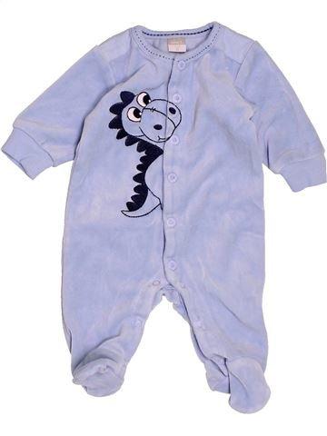 Pyjama 1 pièce garçon NAME IT bleu 1 mois hiver #1501192_1
