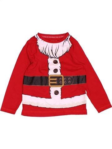 T-shirt sans manches fille TU rouge 2 ans hiver #1501478_1