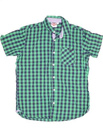 Chemise manches courtes garçon LEE COOPER bleu 13 ans été #1501620_1