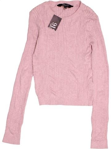 Pull fille NEW LOOK violet 15 ans hiver #1501676_1