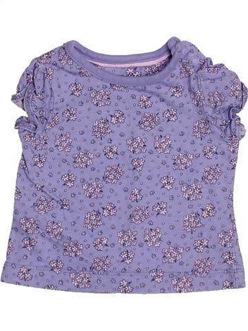 Camiseta de manga corta niña MOTHERCARE violeta 3 meses verano #1501795_1