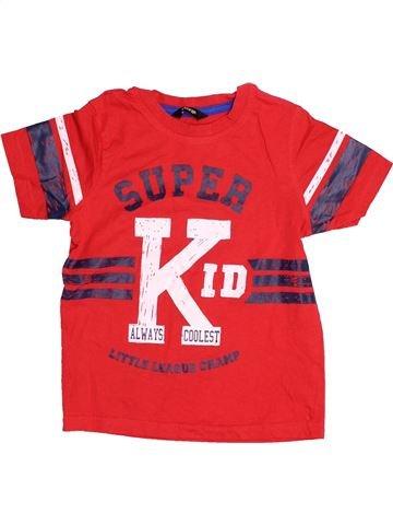 Camiseta de manga corta niño GEORGE rojo 5 años verano #1501963_1