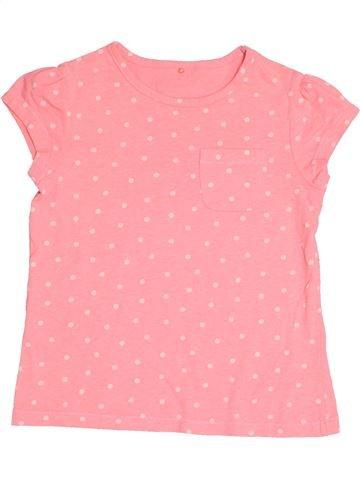 Camiseta de manga corta niña GEORGE rosa 8 años verano #1502289_1
