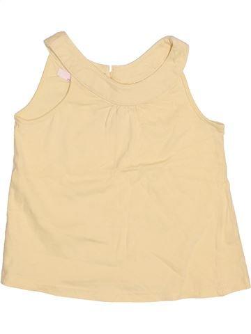 Camiseta sin mangas niña LA REDOUTE CRÉATION beige 3 años verano #1502383_1