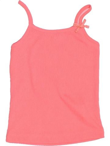 T-shirt sans manches fille BOUT'CHOU rose 18 mois été #1502665_1