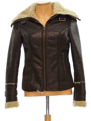 Vestes cuir simili femme GEORGE 36 (S - T1) hiver #1502681_1