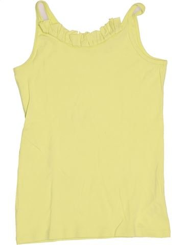 Camiseta sin mangas niña OKAIDI amarillo 14 años verano #1502822_1