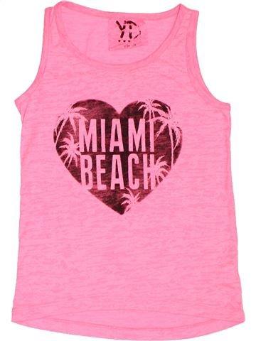 Camiseta sin mangas niña PRIMARK rosa 9 años verano #1503459_1