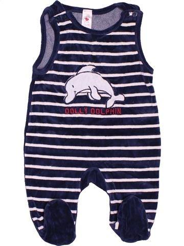Pijama de 1 pieza niño C&A rosa 6 meses invierno #1503574_1