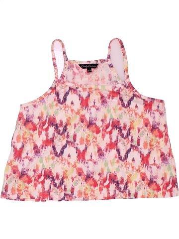 T-shirt sans manches fille CANDY COUTURE rose 13 ans été #1503865_1