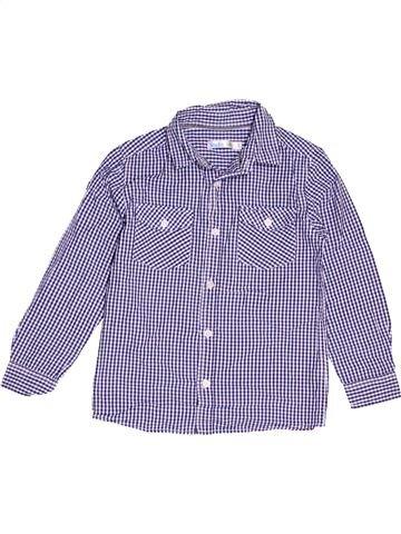 Camisa de manga larga niño M&CO violeta 7 años invierno #1503896_1