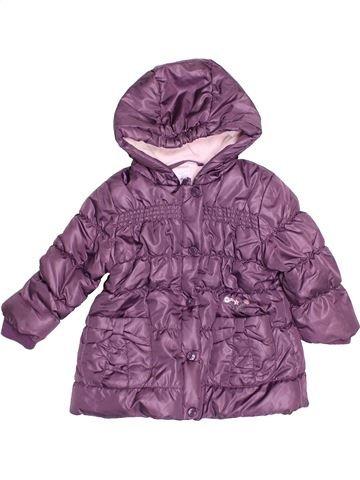 Doudoune fille CADET ROUSSELLE violet 12 mois hiver #1504364_1
