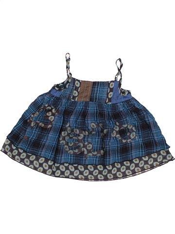 Blusa de manga corta niña CATIMINI azul 6 años verano #1504438_1