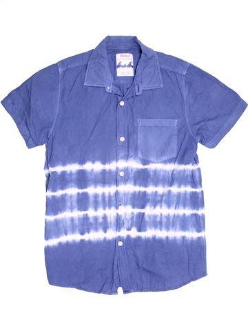 Chemise manches courtes garçon PRIMARK violet 13 ans été #1504541_1