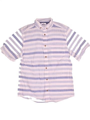 Chemise manches courtes garçon PRIMARK blanc 13 ans été #1504544_1