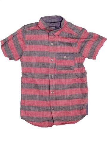 Chemise manches courtes garçon TU violet 7 ans été #1504797_1