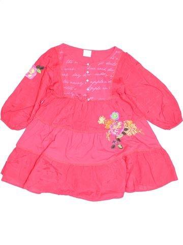 Robe fille NEXT rose 10 ans hiver #1505013_1