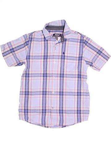 Chemise manches courtes garçon PRIMARK violet 10 ans été #1505135_1