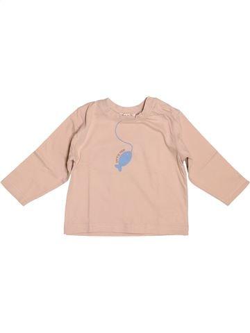 Camiseta de manga larga niño GRAIN DE BLÉ beige 12 meses invierno #1505297_1