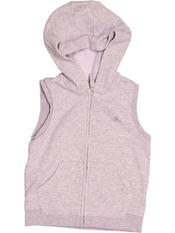 Sweat fille DOMYOS violet 3 ans hiver #1505449_1