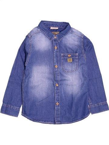 Chemise manches longues garçon ZARA violet 5 ans hiver #1505988_1