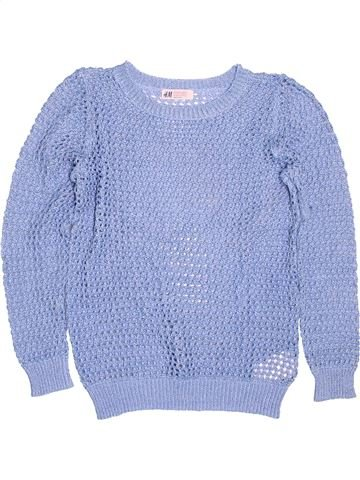 Pull fille H&M bleu 12 ans hiver #1506354_1