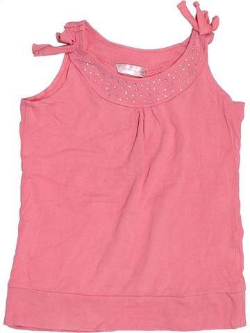T-shirt sans manches fille MATALAN rose 9 ans été #1506569_1