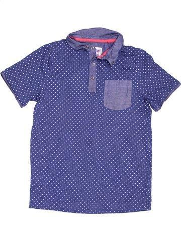 Polo manches courtes garçon TU violet 12 ans été #1506712_1