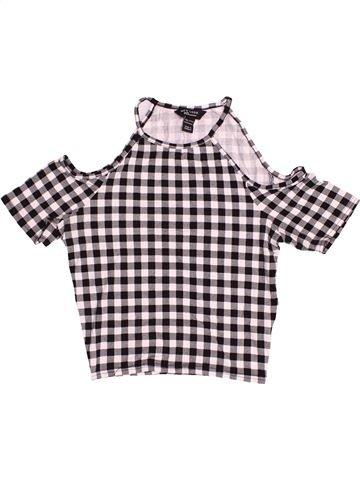 T-shirt sans manches fille NEW LOOK gris 13 ans été #1506957_1