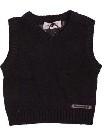 jersey niño JEAN BOURGET negro 6 meses invierno #1506978_1