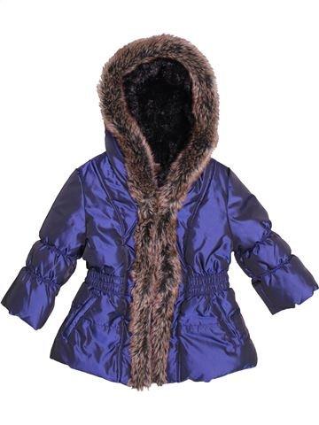 Doudoune garçon CATIMINI violet 12 mois hiver #1507138_1