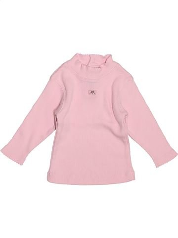 Camiseta de cuello alto niña LILI GAUFRETTE violeta 12 meses invierno #1507166_1