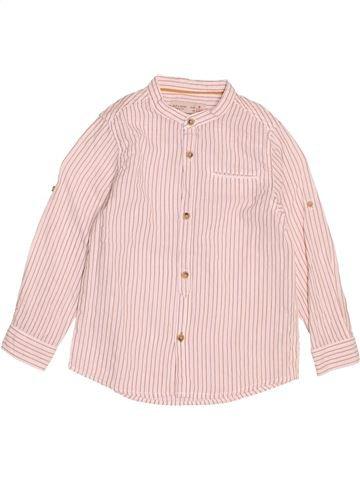 Chemise manches longues garçon ZARA blanc 5 ans hiver #1507168_1