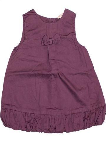 Vestido niña GRAIN DE BLÉ violeta 6 meses invierno #1507400_1