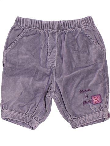 Pantalon fille DISNEY violet 12 mois hiver #1507416_1