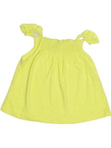 T-shirt sans manches fille TAPE À L'OEIL jaune 18 mois été #1507777_1