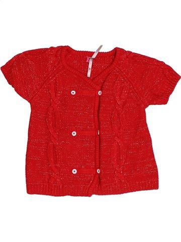 Gilet fille ORCHESTRA rouge 2 ans hiver #1507782_1