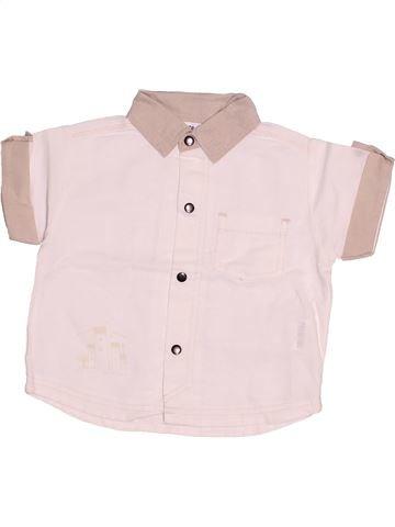 Chemise manches courtes garçon SUCRE D'ORGE rose 6 mois été #1507894_1