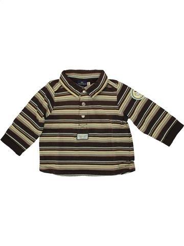 Polo de manga larga niño SERGENT MAJOR marrón 6 meses invierno #1508015_1